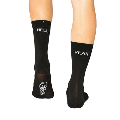 Fingerscrossed Hell Yeah 1.0 Socks Black-Runster