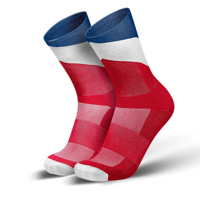 Incylence Arrows Triathlon Socks Long Tricolore-Runster