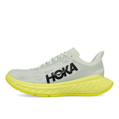 Hoka One One Carbon X 2 Herren Blue Flower Luminary Green-Runster