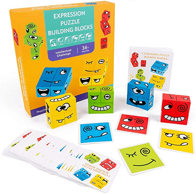 (50% OFF)Thinking Training Children Face-Changing Rubik's Cube