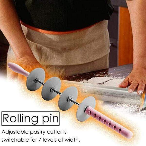 Adjustable Croissant Rolling Pin