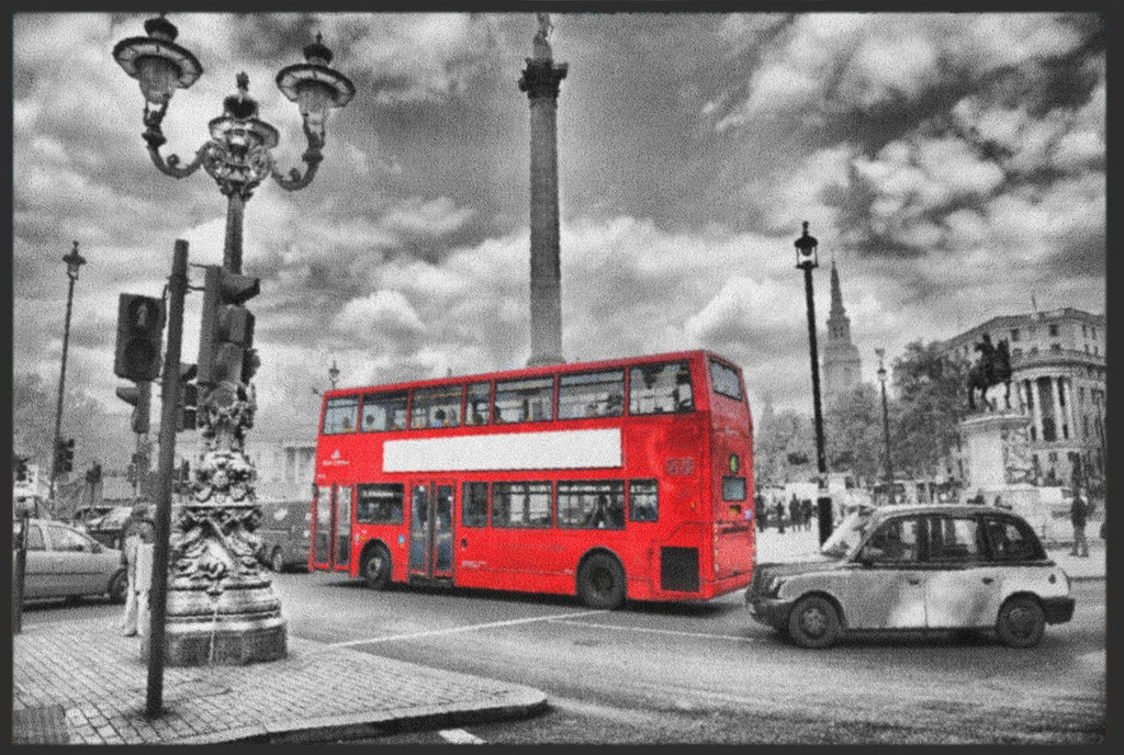 Fussmatte London Bus 4318-Fussmattenwelt