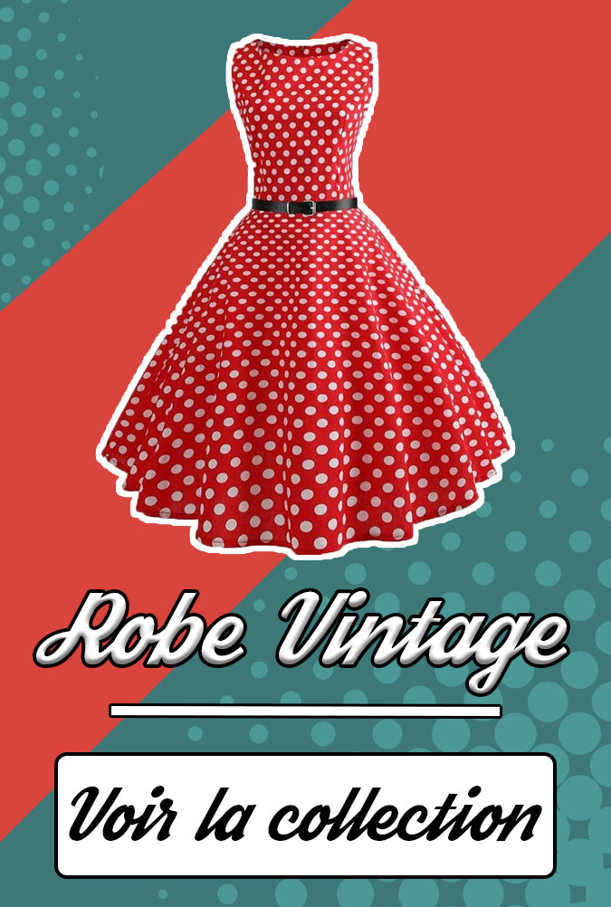 Collection robe vintage