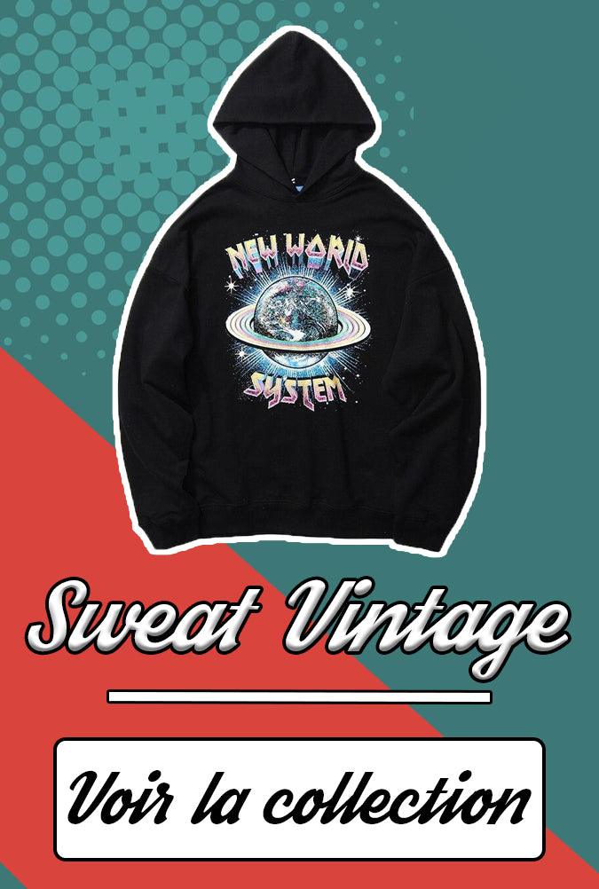 Collection sweat vintage