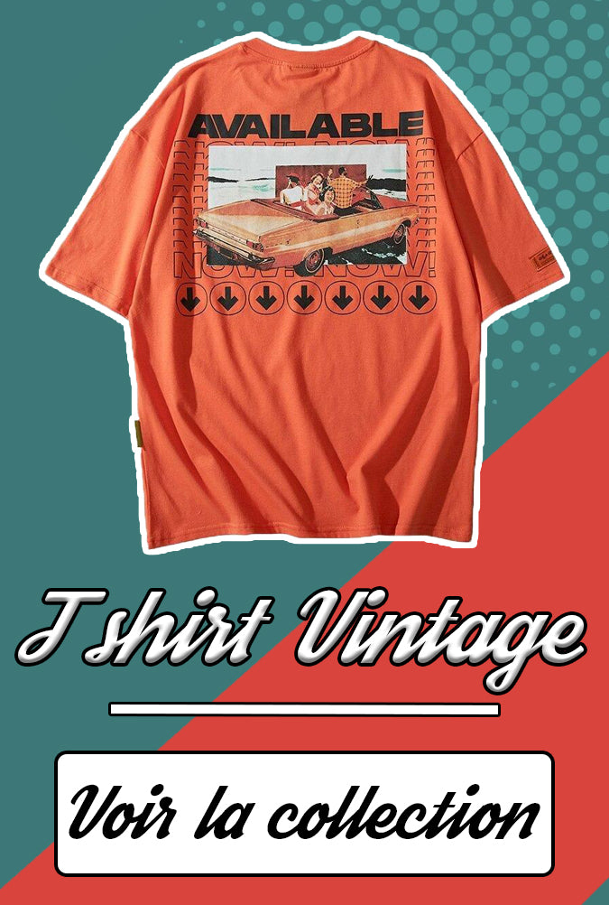 Collection t shirt vintage