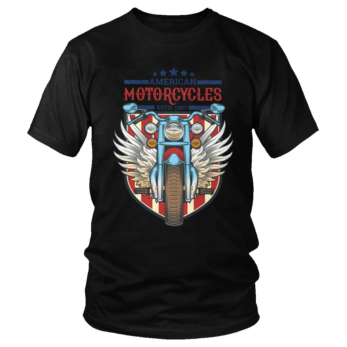 T-shirt Vintage Motorcycle