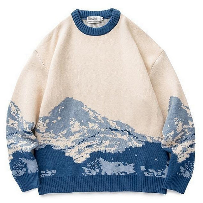 Pull hiver vintage