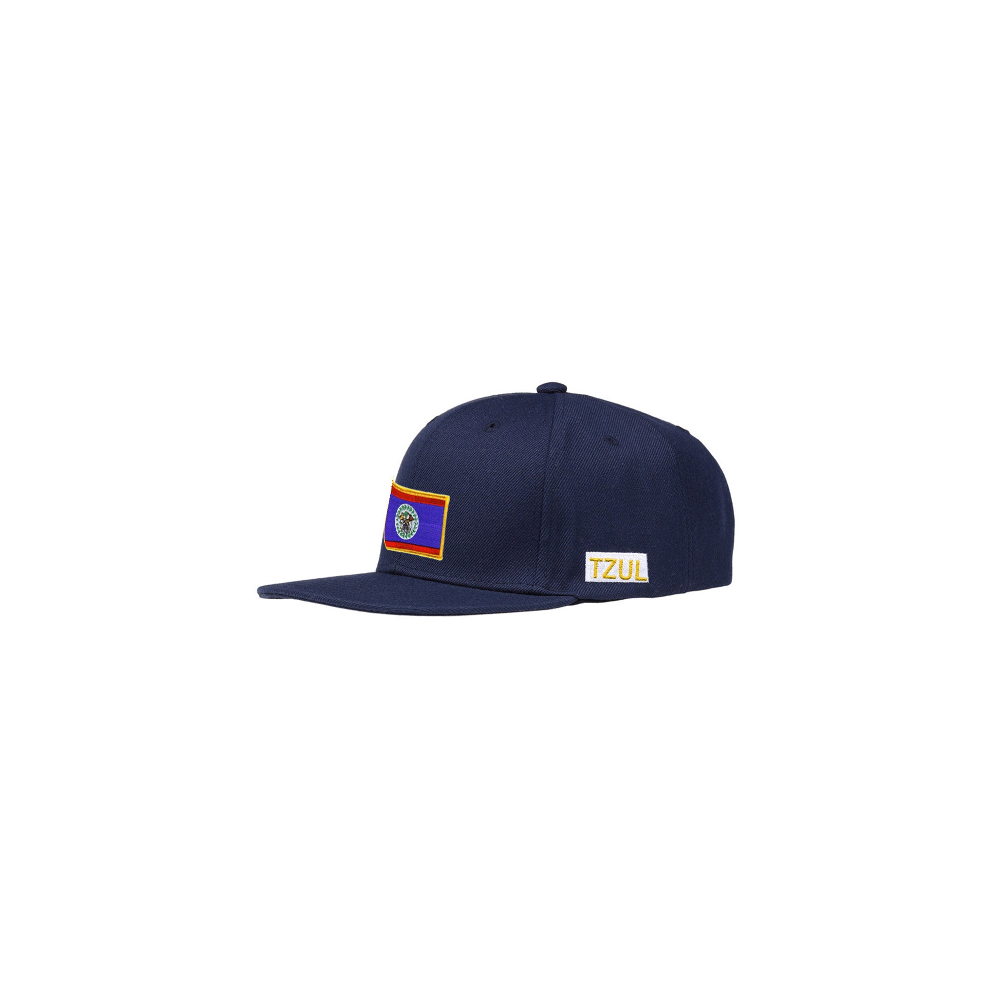 TZUL Snap Back Hat with Embroidered Detail