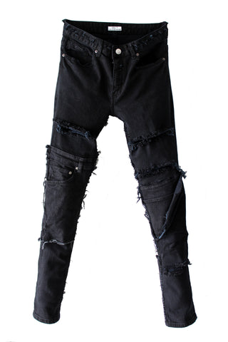 TZUL Dr. Strange Distressed Denim Azul