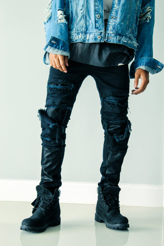 Black Friday Distressed Denim