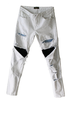 Blanco Sport Distressed Denim