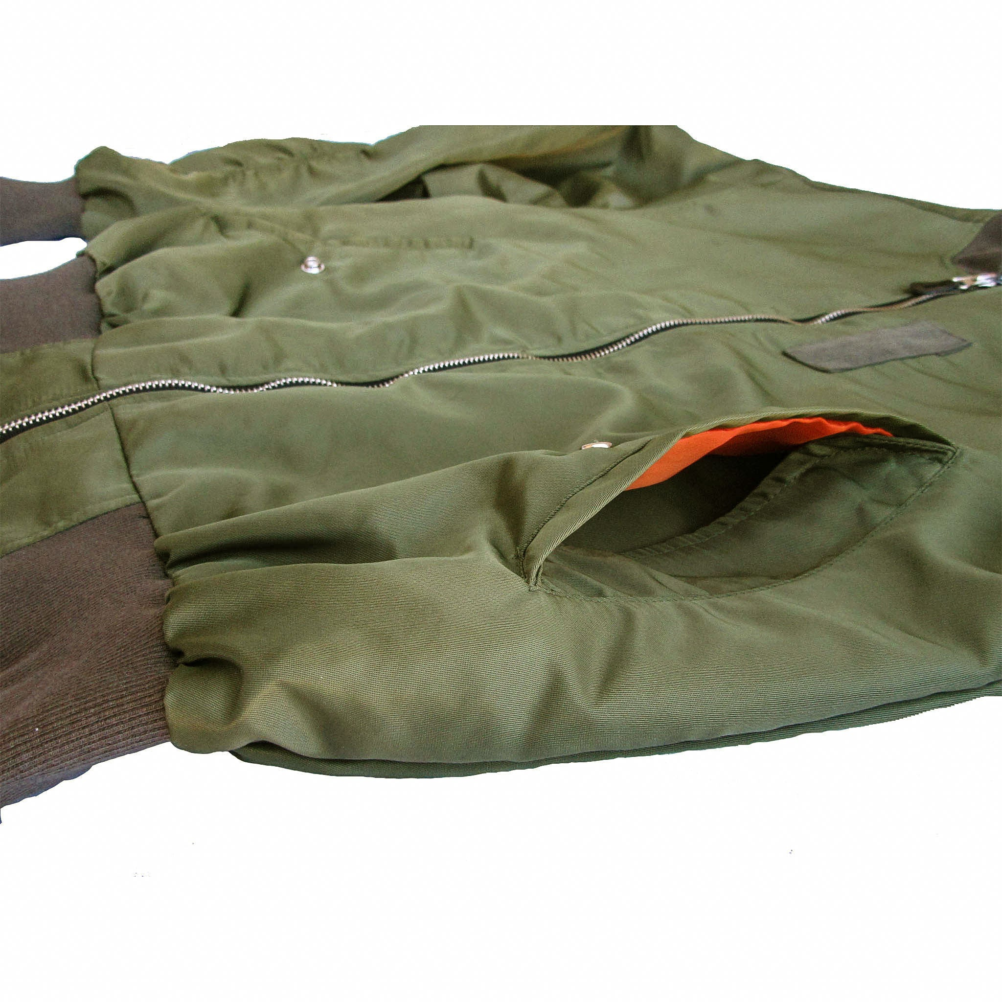 TZUL Olive Flight Jacket