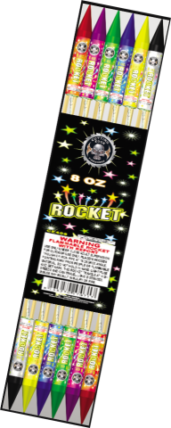 8 oz Assorted Rockets
