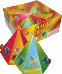 Magic Crystal Aerial Spinners