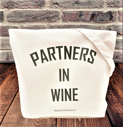 "Canvas Tragetasche ""Partners in Wine"""