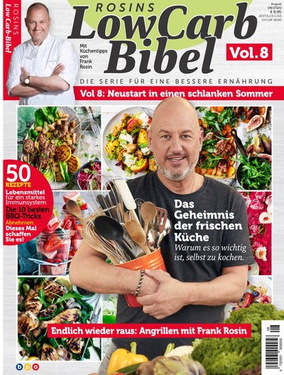 Rosins Low Carb-Bibel Vol. 8 - Neustart in einen schlanken Sommer