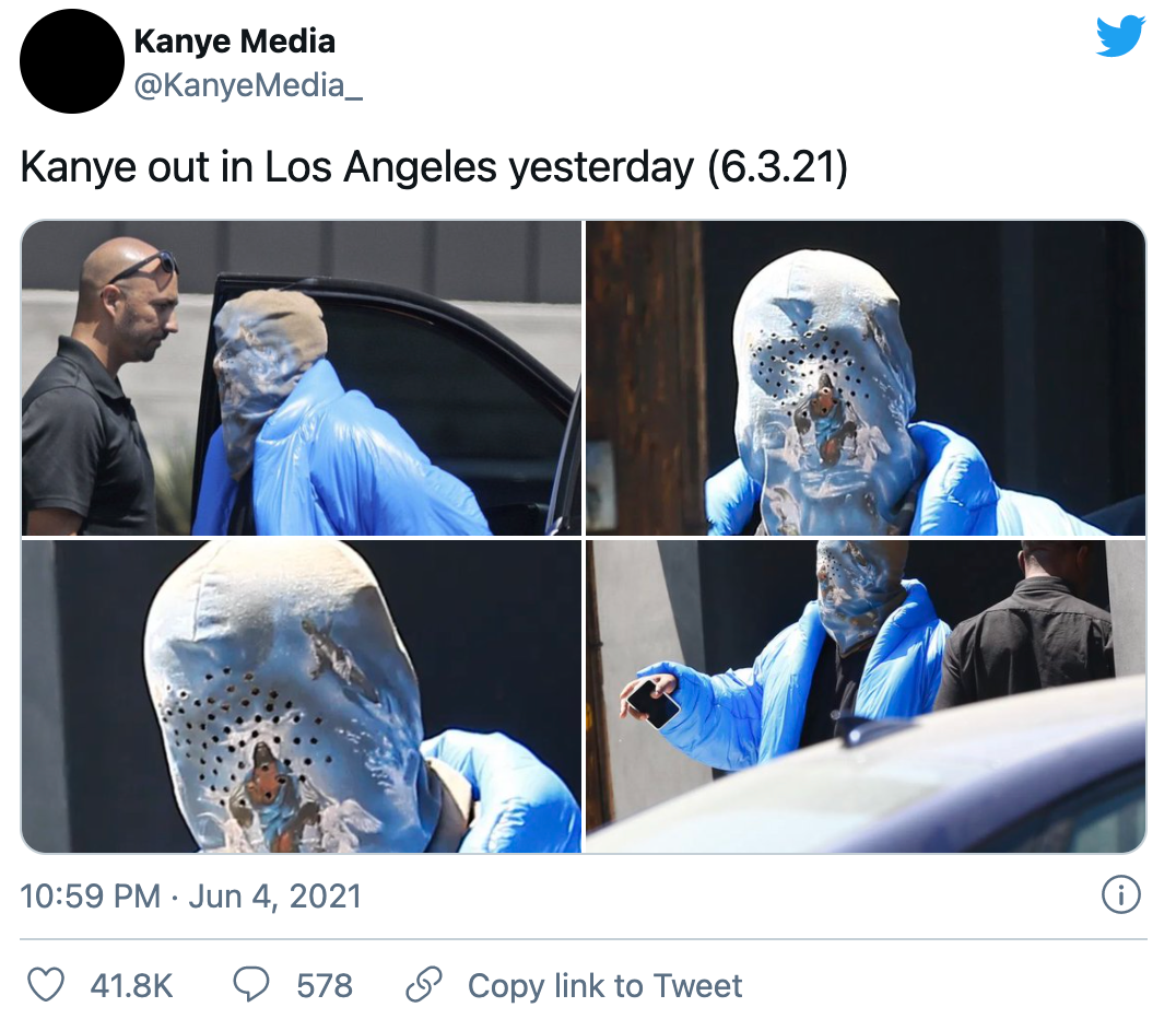 kanye west spotted with some nike's on his feet in los angeles contract with adidas sneaker news Twitter