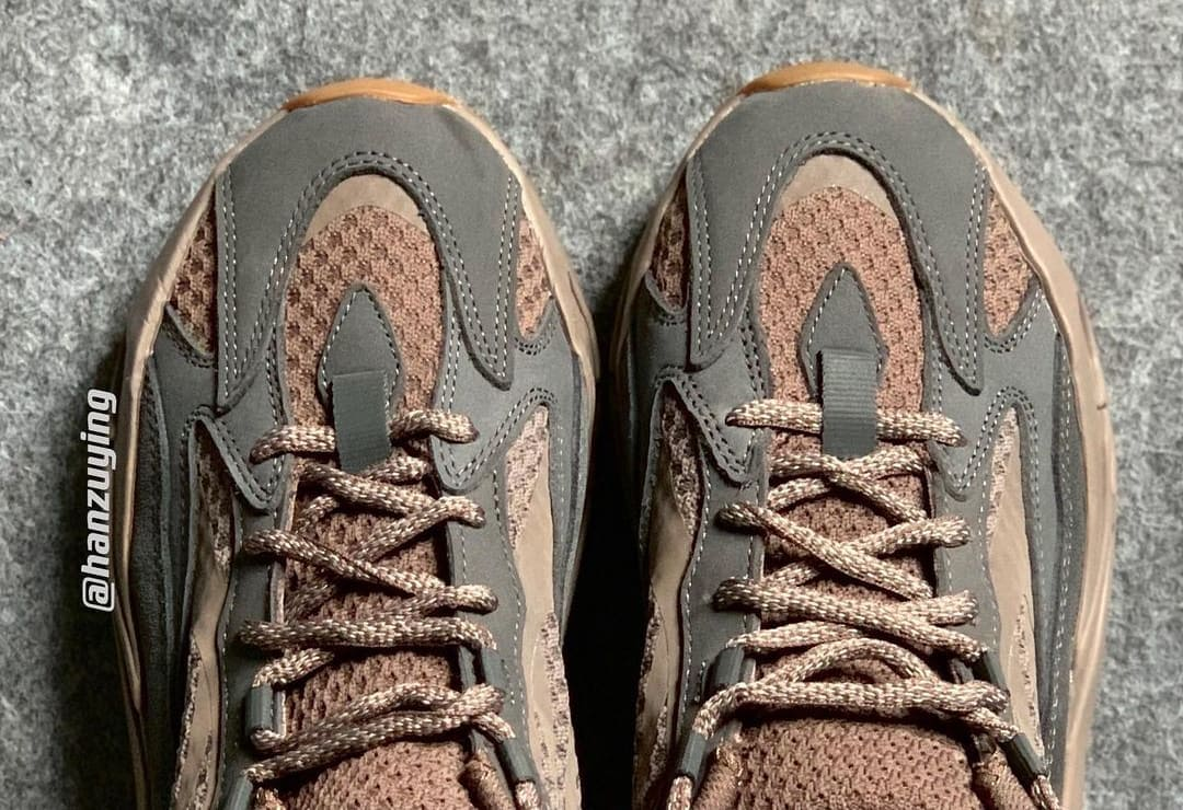 Adidas Yeezy Boost V2 Mauve Kanye West Sneaker Release Leak Rumors News Blog Post Brown Graphite Grey Gum Sole Sneakers Kicks Shoes YZY New Hype