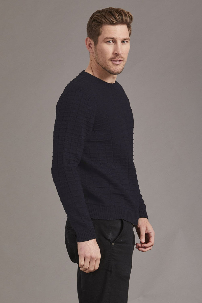McDonalds Men Merino Textured Pullover