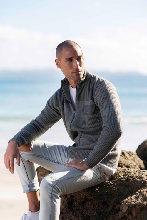 Merino Trim Jacket