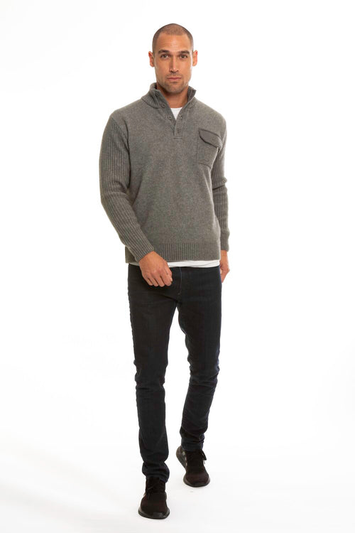 Merino Trim Jumper