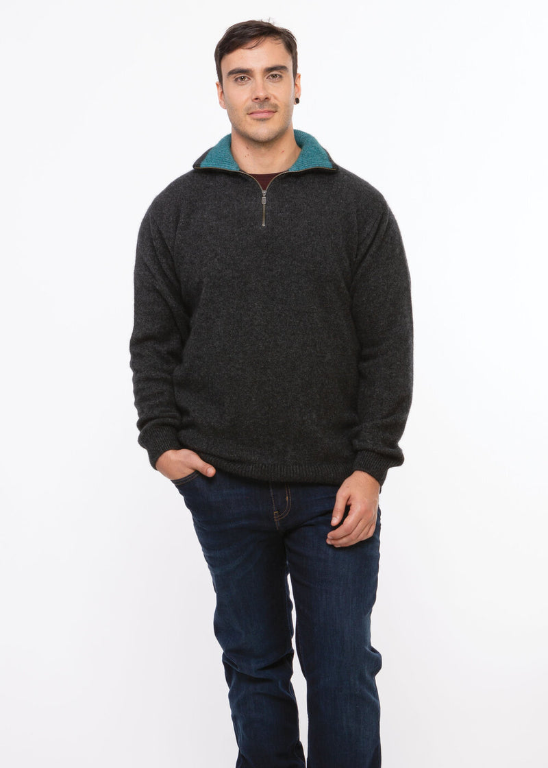 Zip Collar Jumper