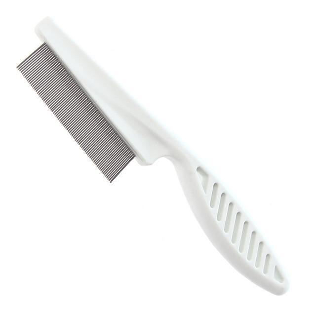 Protect Flea Comb For Cats Dogs Pet Stainless Steel Comfort Flea Hair Grooming Tools Deworming Brush Short Long Hair Fur Remove freeshipping - Mshop Store