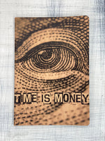 Notebook - TIME IS MONEY