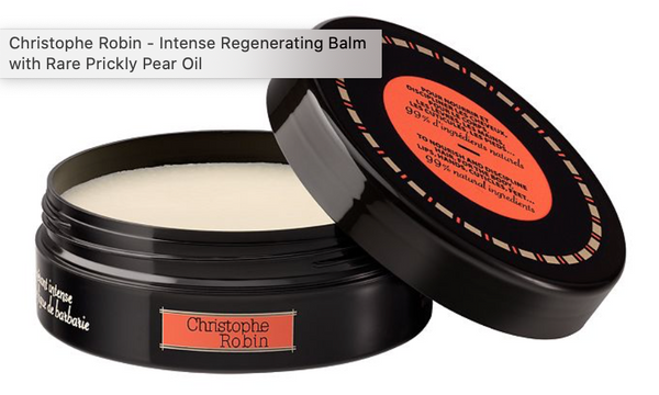 CHRISTOPHE ROBIN - Intense Regenerating Balm with Rare Prickly Pear Oil