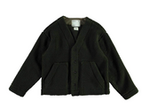 GIRLS OF DUST - G.o.D Baseball Cardigan Teddy Verde