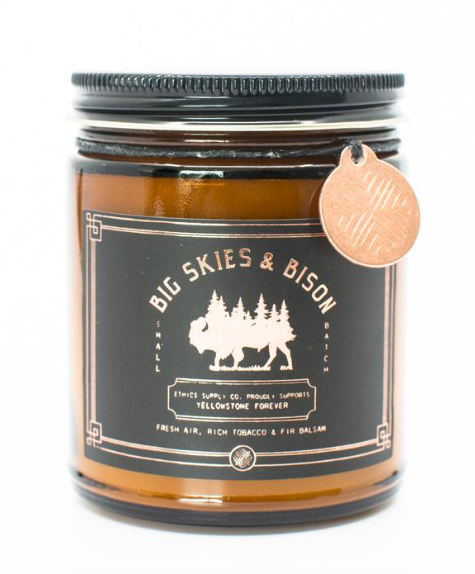 Big Skies and Bison (9oz. Candle)