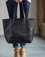 ARTIFACT - Harness Leather Tote (Black)