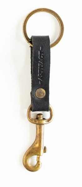 ARTIFACT - Key Clip (Black Leather)
