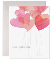 Greeting Card - Valentine Balloon Card