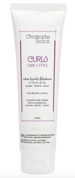 CHRISTOPHE ROBIN - Luscious Curl Cream with Flaxseed Oil