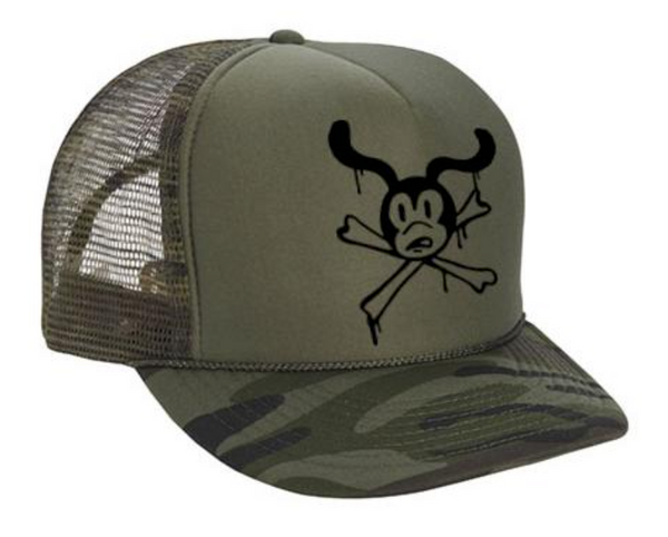 EAT DUST - X Trucker Bones Dust Nylon Camo