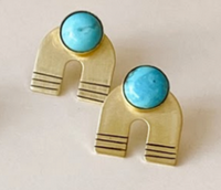 OCEANNE -  Hope Rainbow Studs