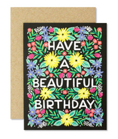 Greeting Card - Have a Beautiful Birthday