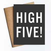 Greeting Card - High Five!