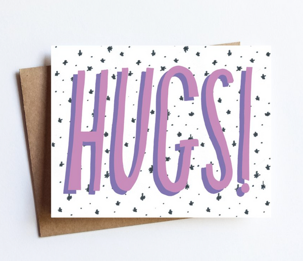 Greeting Card - Hugs!