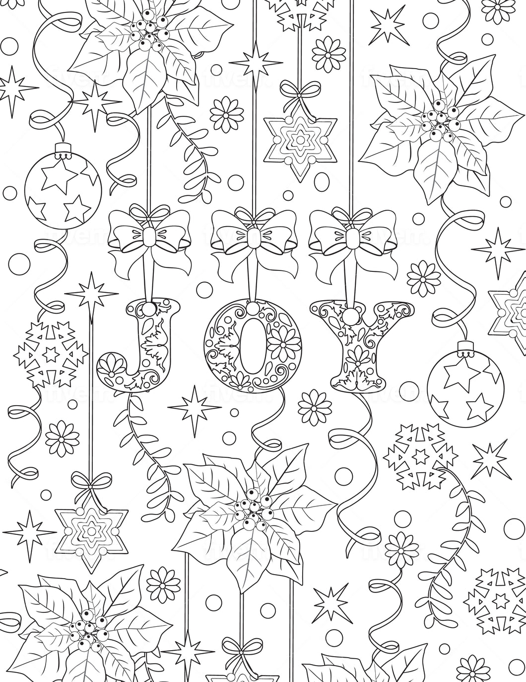 Christmas #2 Coloring Sheet - Goin Postal Brentwood