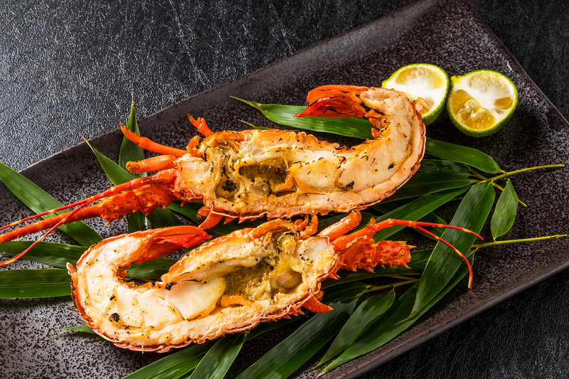 Lobster Whole Cooked 350G FROZEN