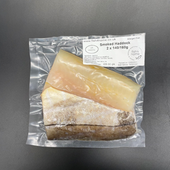Smoked Haddock Portions 2 x 140 - 160G