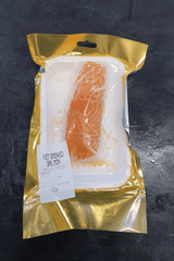 Hot Smoked Roast Salmon Portion 130G FROZEN