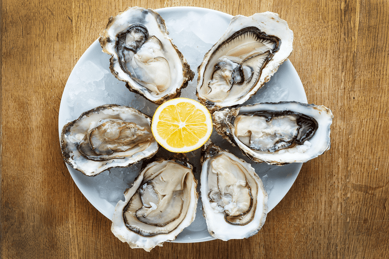 Oysters LIVE 120-150G x 20