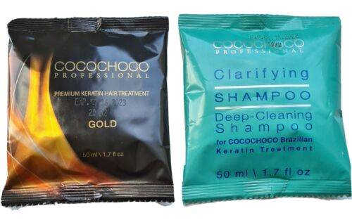 COCOCHOCO Gold Brazilian Keratin Treatment 50 ml + COCOCHOCO Clarifying Shampoo 50 ml