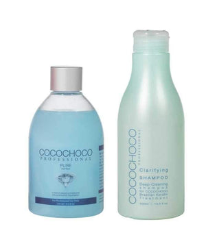 COCOCHOCO Pure Brazilian Keratin 250 ml + Clarifying Shampoo 400 ml