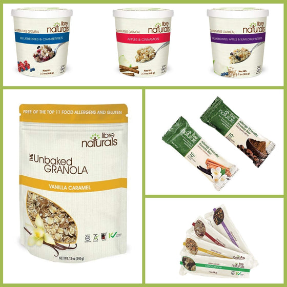 Sample Pack:  Try Our Delicious Products