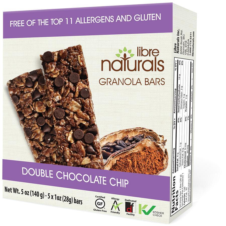 Granola Bars:  Double Chocolate Chip