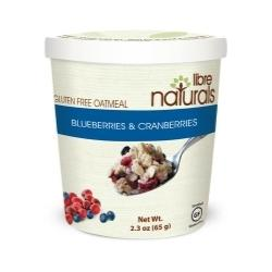 Oatmeal:  Blueberries and Cranberries